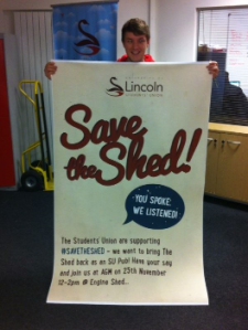 Save The Shed